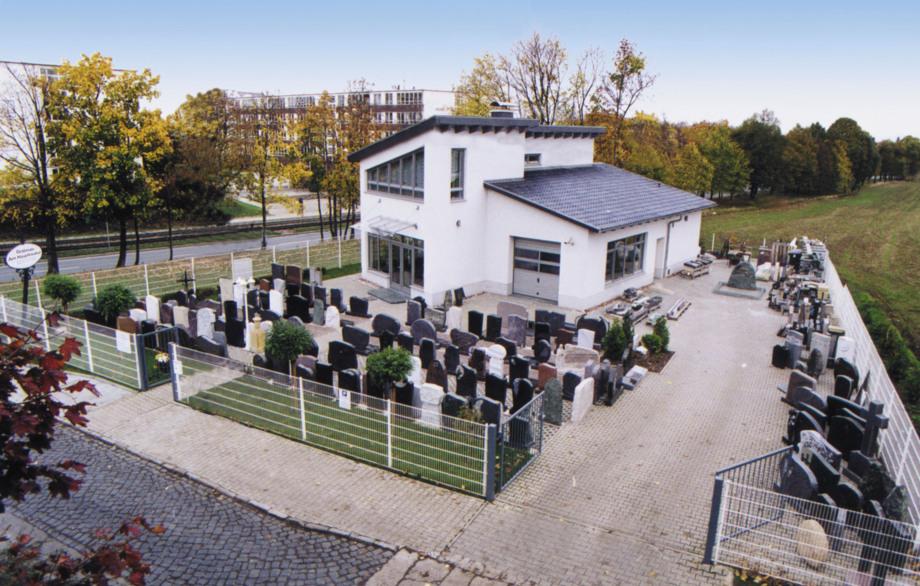 Grabmale am Hauptfriedhof in Erfurt